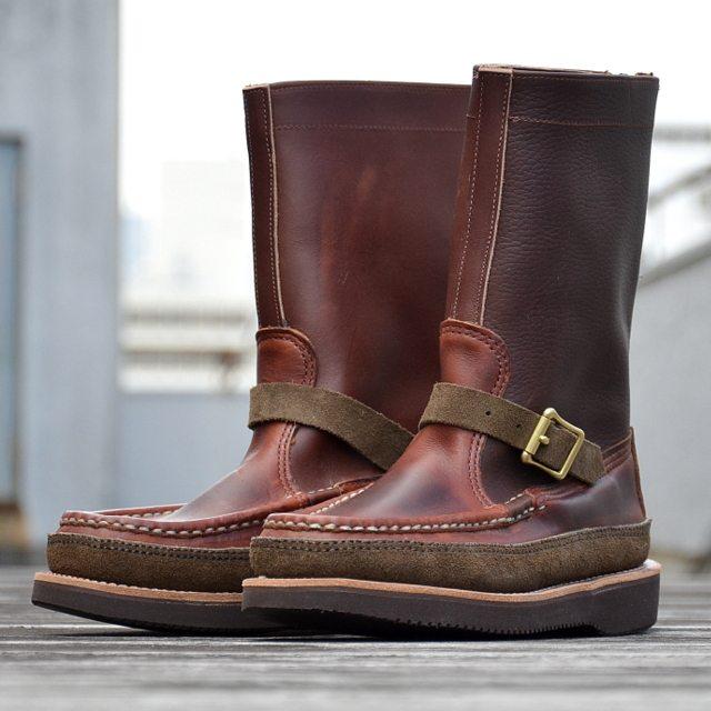 botas moc toe feitas à mão pela russell mocassin 8