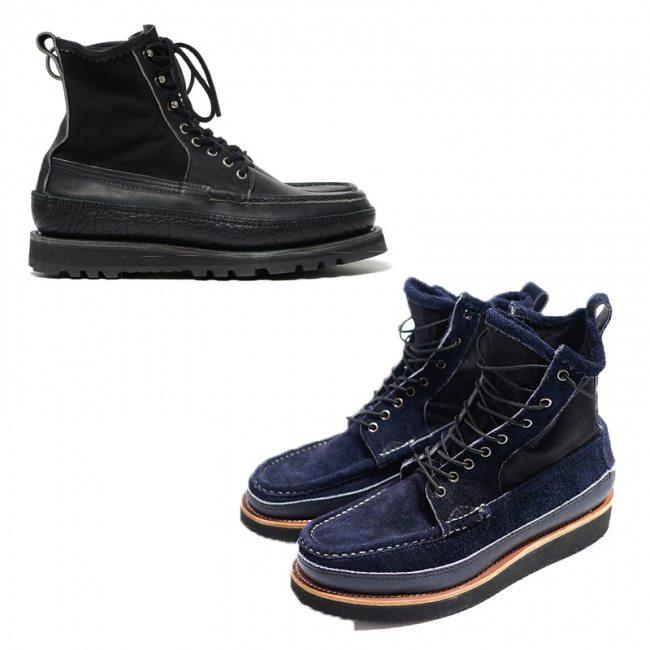 botas moc toe feitas à mão pela russell mocassin 4