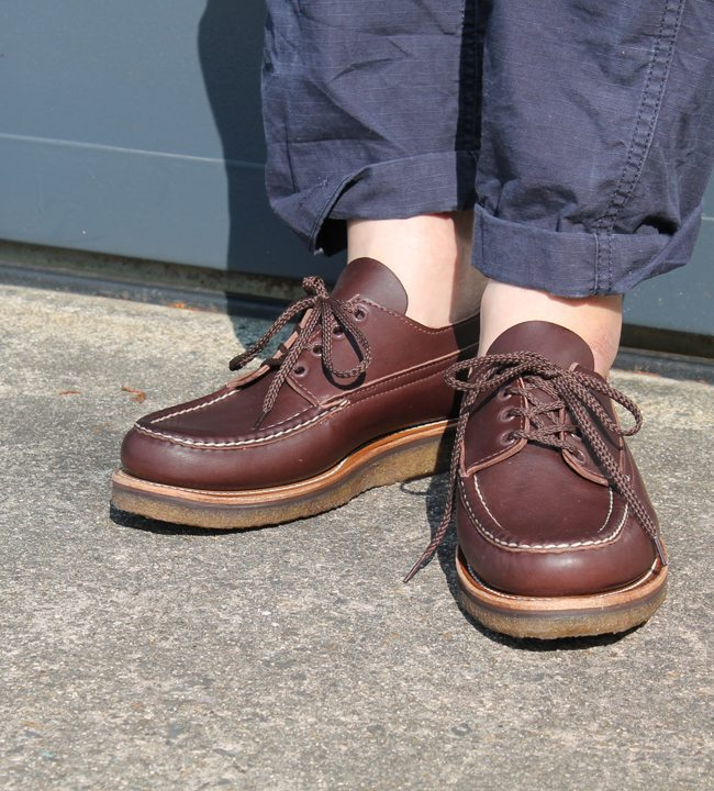 sapato oxford marrom russel mocassin usar 1