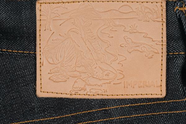 Patch de couro da Imperial Denim
