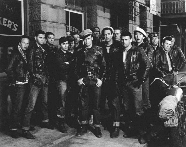Jeans Levi's no filme O Selvagem