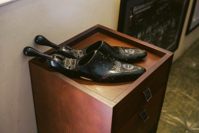 Forma de sapato antiga