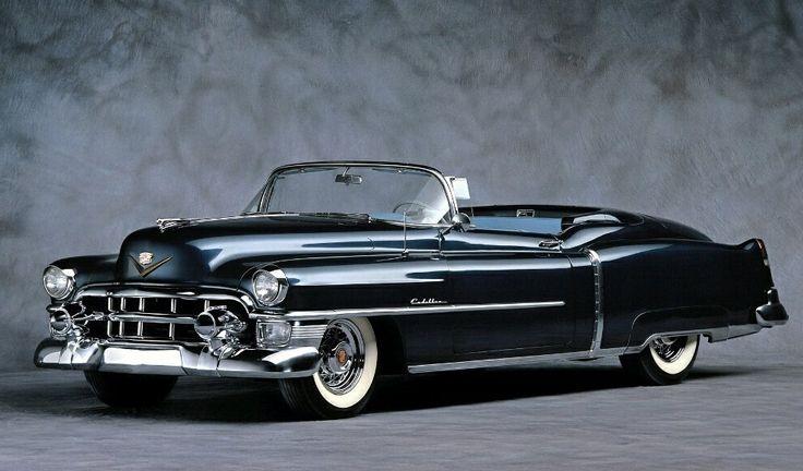 Carro conversível Cadillac Eldorado 1953