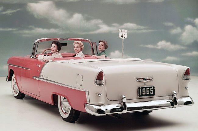Conversível Chevrolet Bel Air 1955