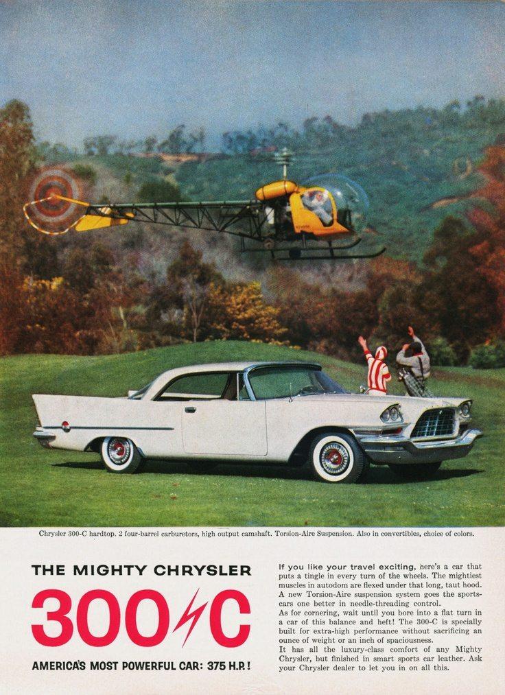 Carro Chrysler 300c 1955