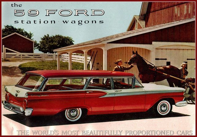 Ford Country Station Wagon 1955