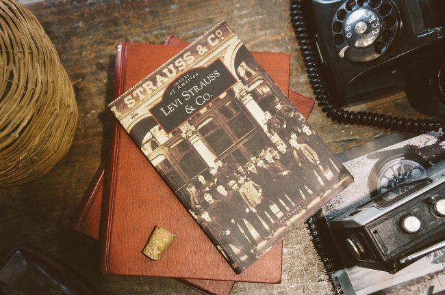 Livro sobre a história da Levi´s
