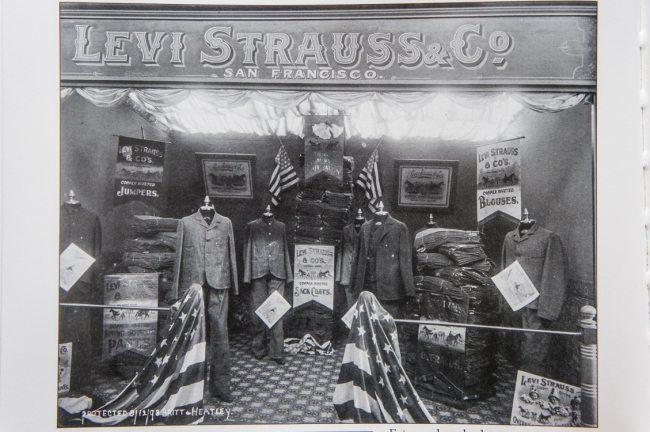 Loja da Levi´s em 1898