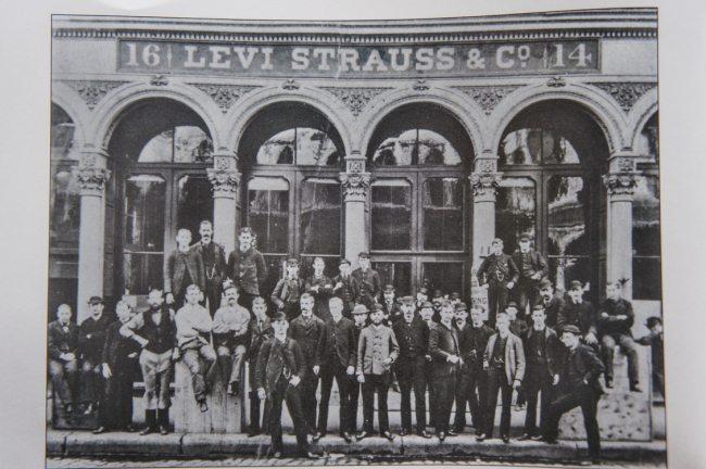 Prédio da Levi´s em 1866