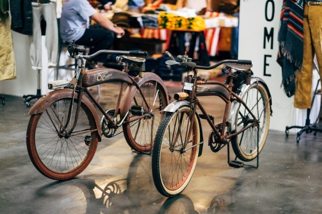 Motocicletas vintage no Inspiration LA 2016