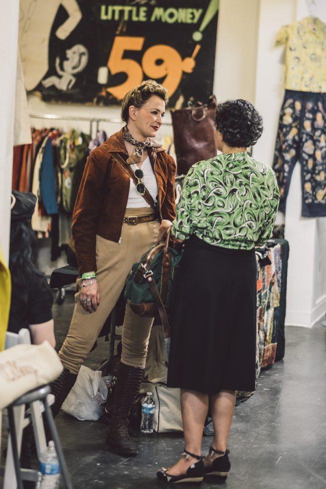 Mulheres estilo vintage no Inspiration LA