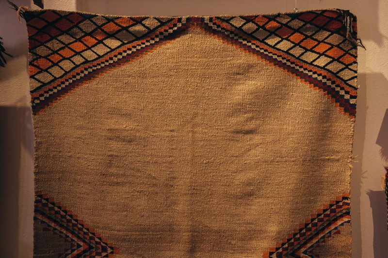 Tapete Navajo na Shiprock Santa Fe