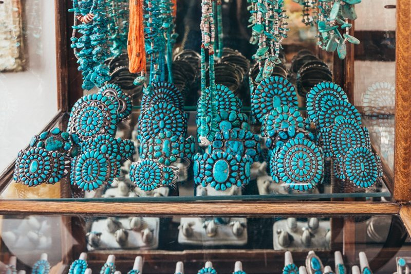 Jóias Navajo na Galeria Shiprock Santa Fe