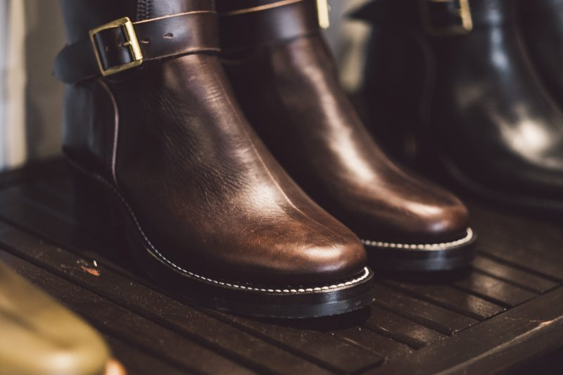 Brown Engineer Boots Role Club by Brian The Boot Maker Inspiration LA 1