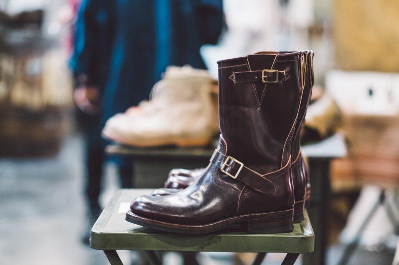 Engineer Boot da Julian Boots em Shell Cordovan Color 8 no Inspiration LA