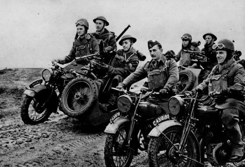 Motocicletas na Segunda Guerra Mundial
