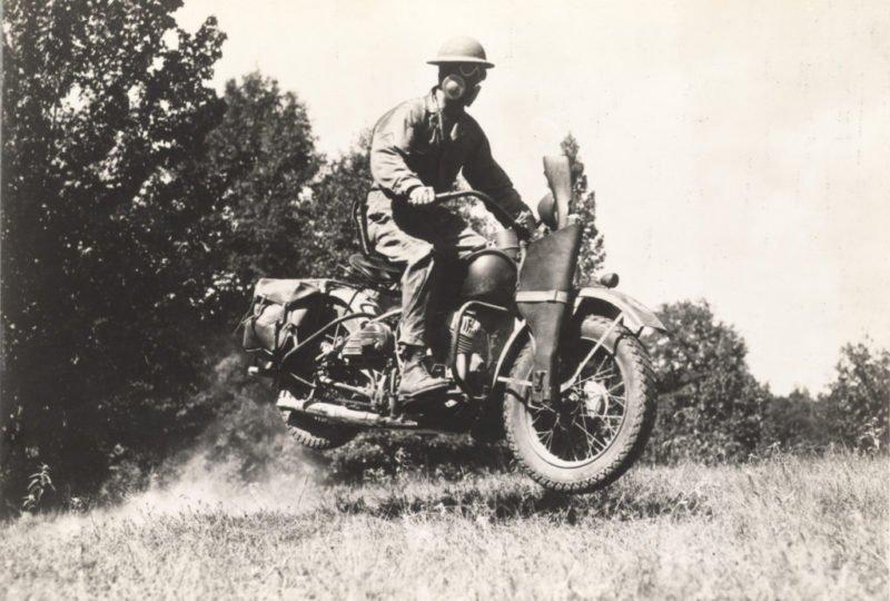 Motocicletas da Segunda Guerra: Harley Davidson WLA