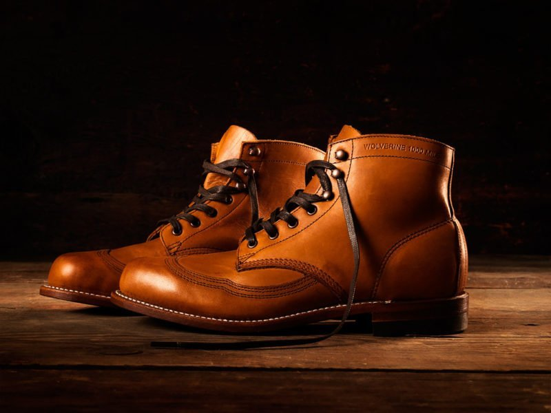 Wolverine 1000 Mile Wingtip Boot