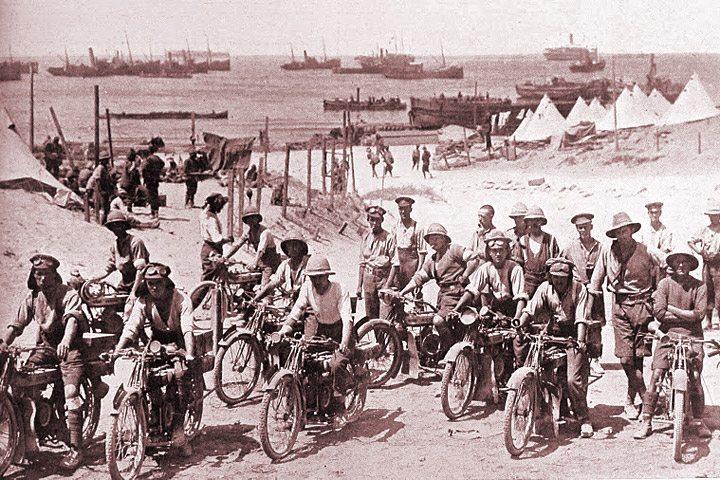 Motocicletas Douglas na Primeira Guerra Mundial