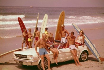 Surfistas nos anos 60