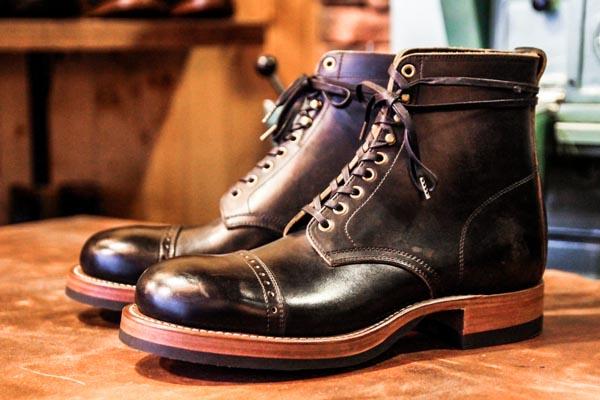 Clinch Cap Toe Boots