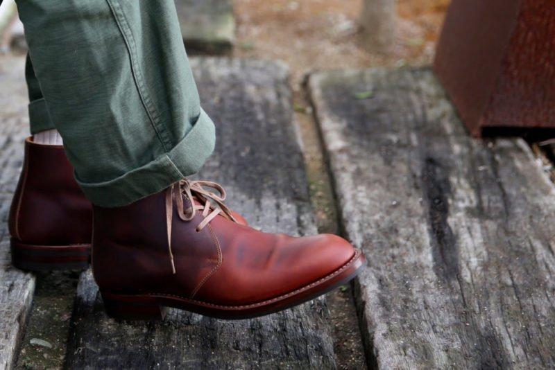 Moto Chukka Boots