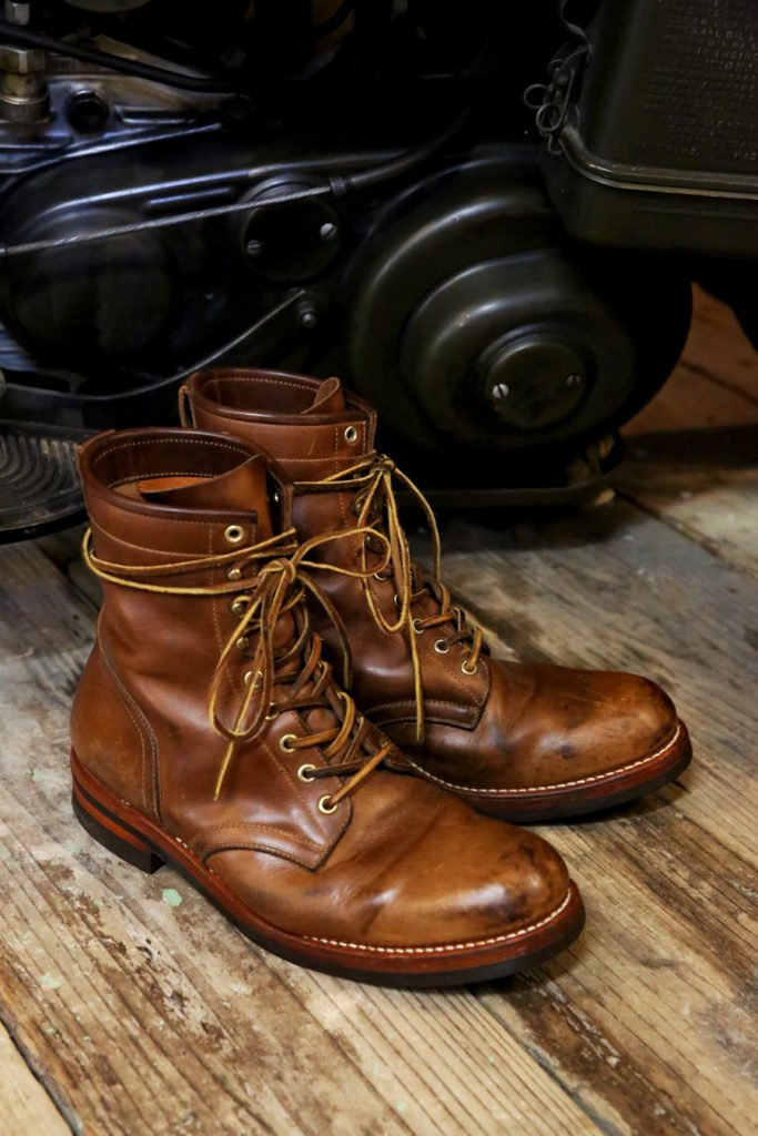 Moto Lace Up Boots