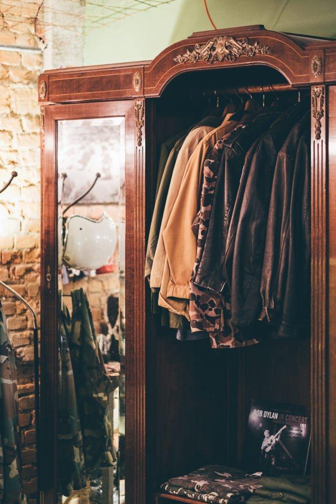 Jaquetas de Couro Vintage e Jaquetas Militares Vintage na Liberty Art Brothers
