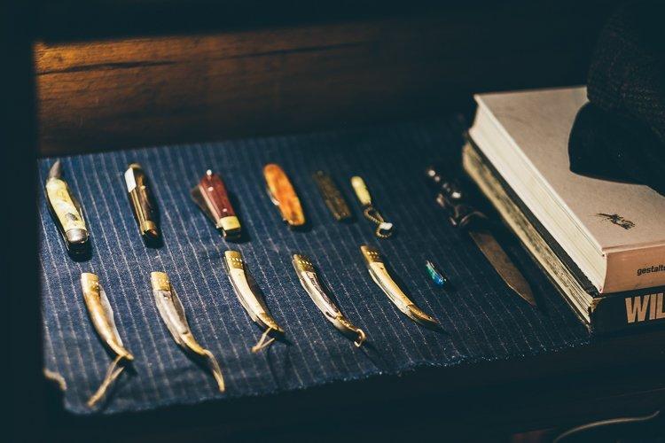 Canivetes de Chifre Liberty Art Brothers