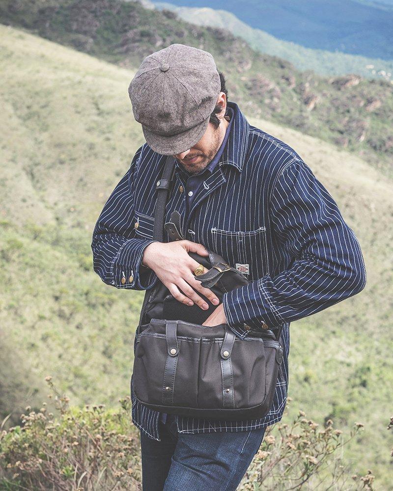 Bolsa Fotografica Traveller Cutterman Preta
