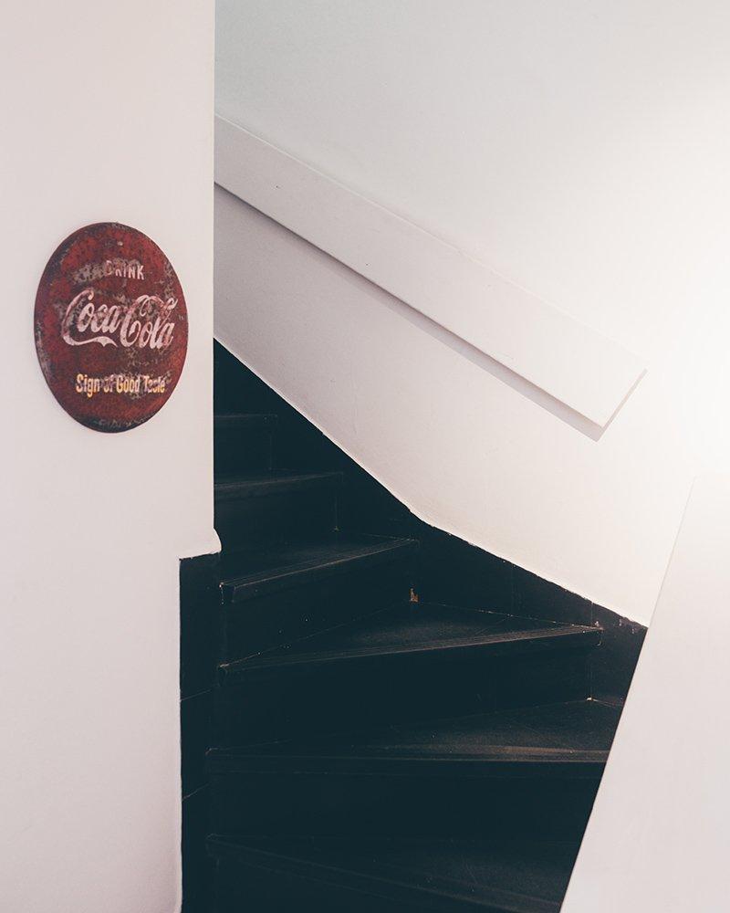 Coca Cola Vintage na Ignis Industrial