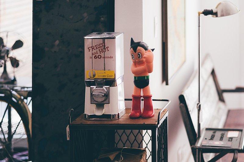 Astroboy Vintage na Ignis Industrial