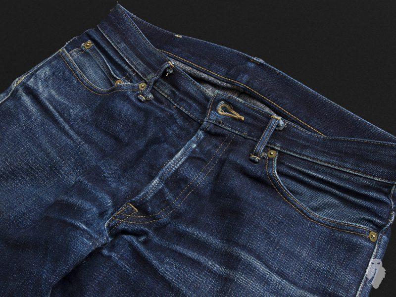 Calça Jeans Raw Denim Usada