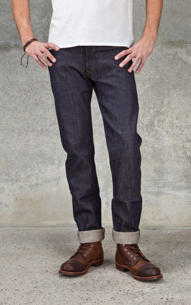 Calça Jeans Corte Tapered