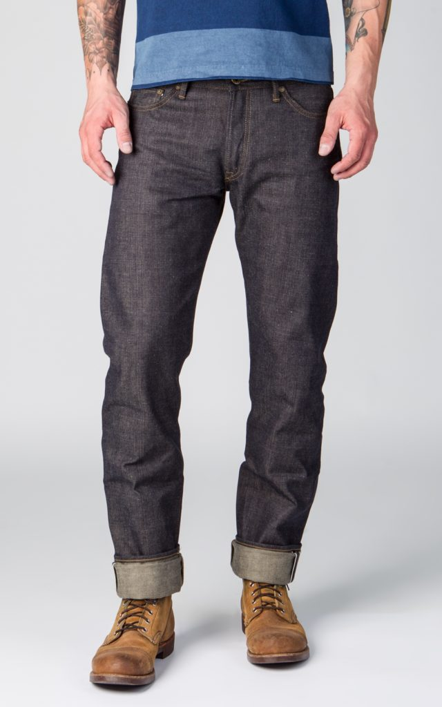 Calça Jeans Corte High Tapered