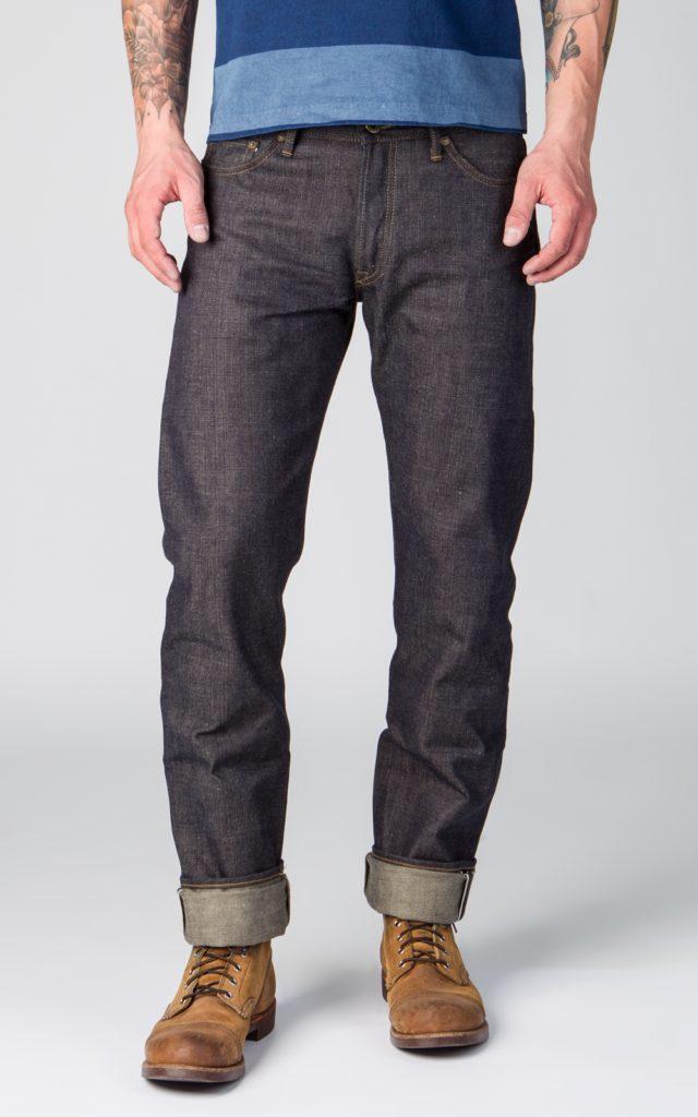 Calça Jeans Corte High Tapered
