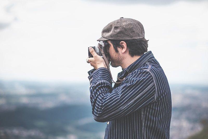 Alça Nostalgia Slim Cutterman Para Câmera Fotográfica