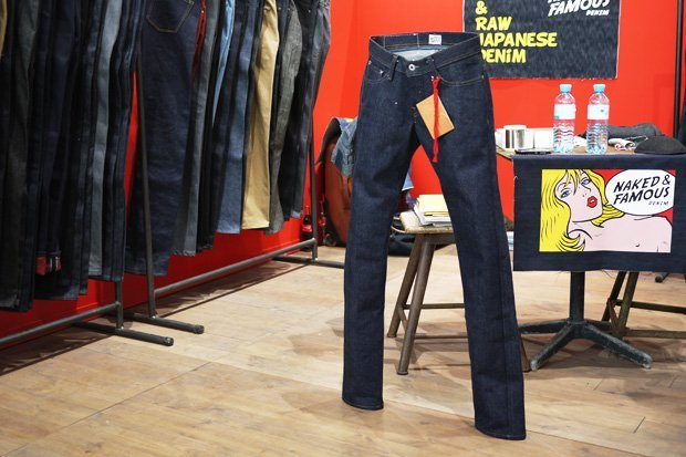 Raw Denim Pesado da Naked & Famous