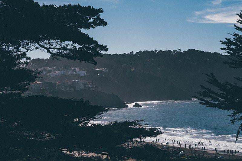Praia em Sao Francisco