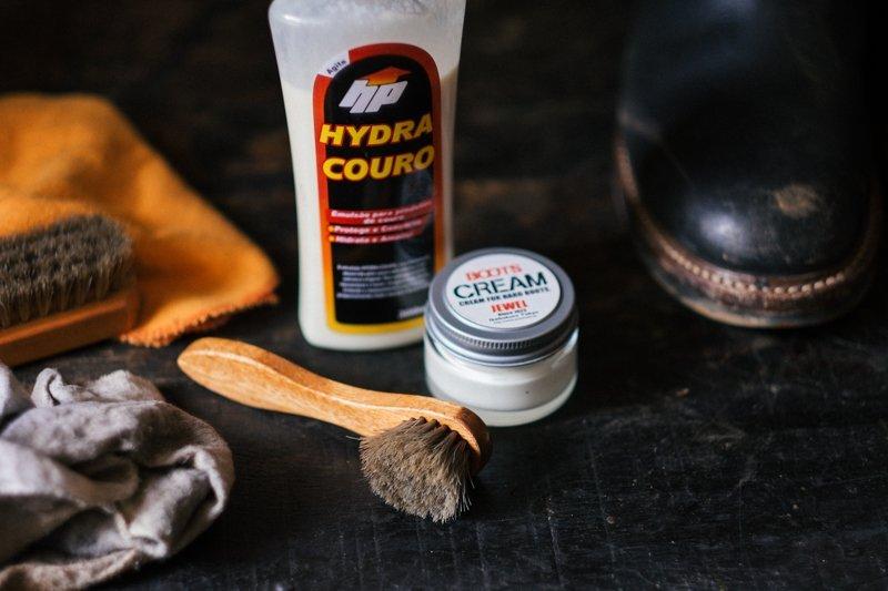 produto para hidratar bota de couro