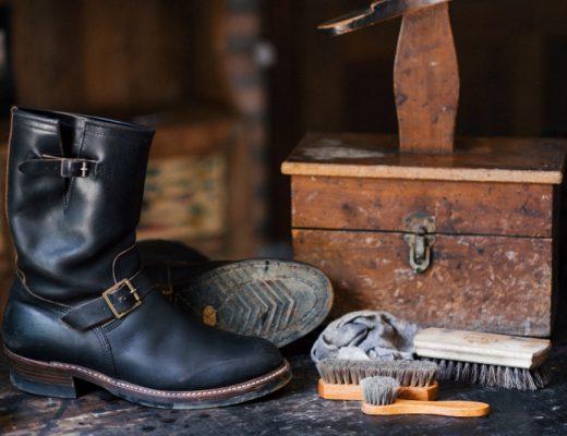 como limpar a sua bota