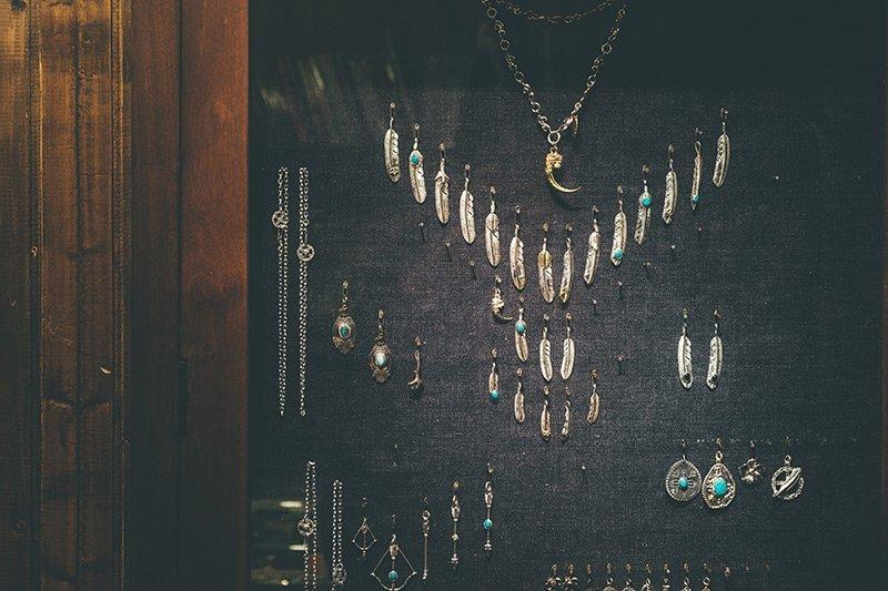 Goro e Navajo Silver Frank's Store Xangai
