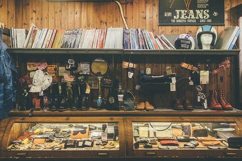 Workwear na China - Franks Store em Xangai
