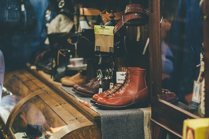 The Flat Head Boots