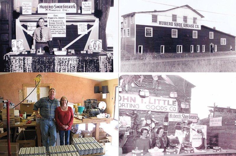 história fábrica hubers shoe oil