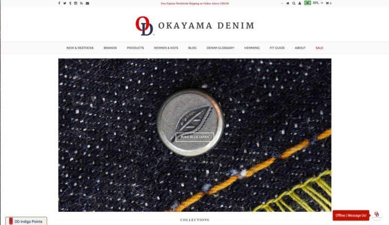 Okayama Denim - Loja de Denim Japones