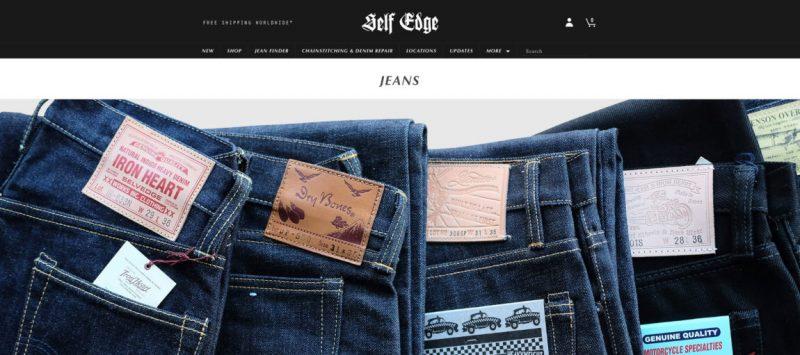 Self Edge Jeans