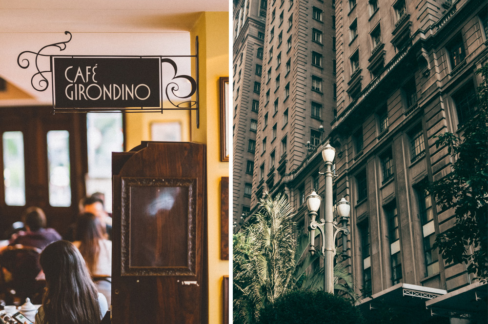 Café Girondino e Edifício Martinelli