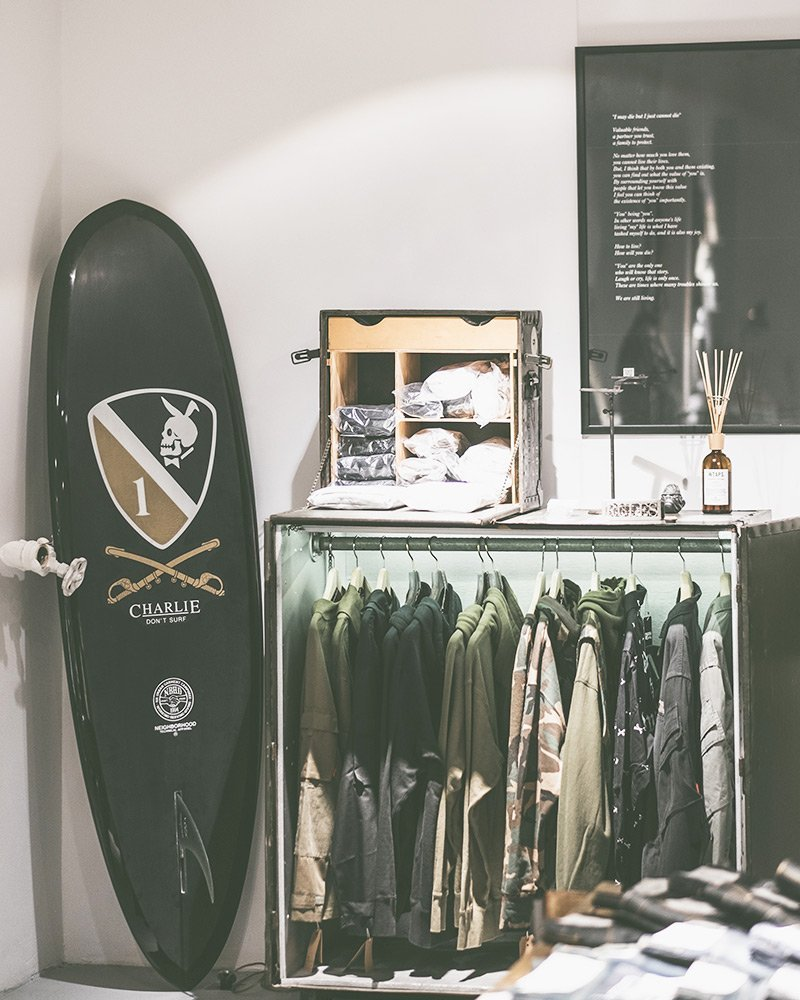 WTaps na Belief Moscow