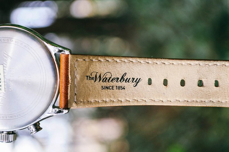 Relógio Timex x Red Wing Waterbury